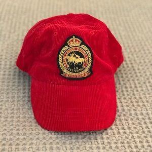 Red Men's Polo baseball cap